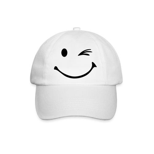 Smiley Kappe - Baseballkappe