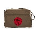 2 colors - unity is our weapon - against capitalism working class war revolution Bags