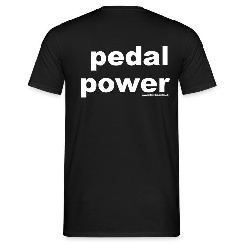 Cycling-Pedal Power T - Men's T-Shirt
