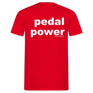 Pedal Power T - Men's T-Shirt