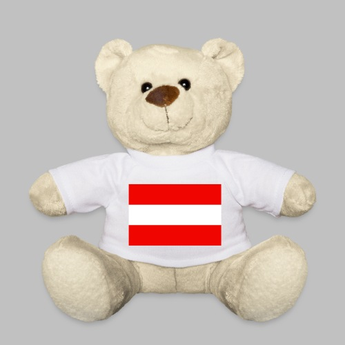 Österreich (Flagge vorn) - Teddy - Teddy