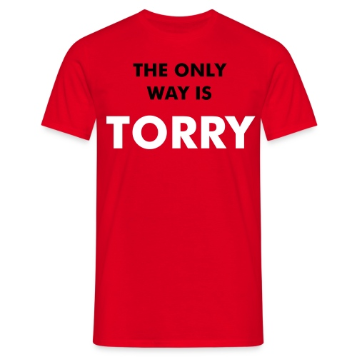 The Only Way is TORRY - Men's T-Shirt