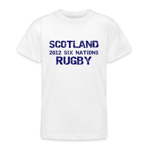 Kids Scotland Six Nations T-Shirt - Teenage T-Shirt