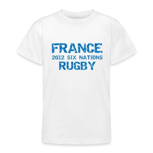 Kids France Six Nations T-Shirt - Teenage T-Shirt