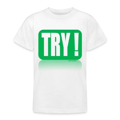 Respect The KickerTRY! Kids T Shirt - Teenage T-Shirt