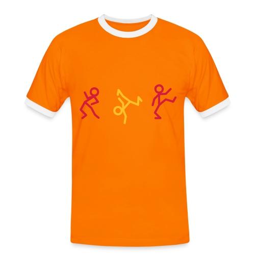 Dance - Männer Kontrast-T-Shirt