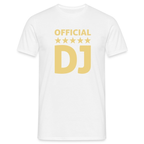 Official DJ - Male T-Shirt - Men's T-Shirt