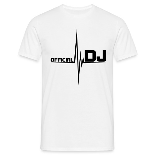 Official DJ/Heartrate - Male T-Shirt - Men's T-Shirt