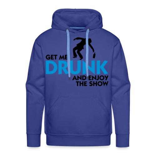 Let me drunk ! - Sweat-shirt à capuche Premium pour hommes