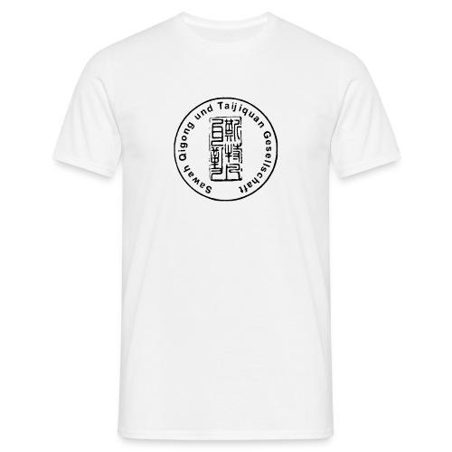 Sawah Qigong + Taijiquan Gesellschaft kurzärmliges T-Shirt weiß 2 - Männer T-Shirt
