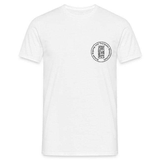 Sawah Qigong + Taijiquan Gesellschaft kurzärmliges T-Shirt weiß 1