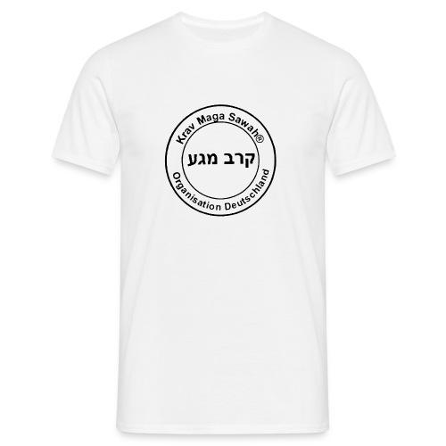 Krav Maga Sawah kurzärmliges T-Shirt weiß - Männer T-Shirt