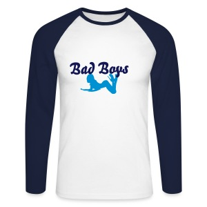 Pull Bad boys  - T-shirt baseball manches longues Homme