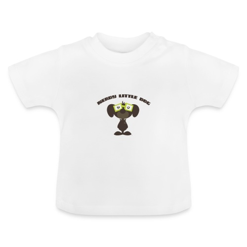 nerdy little dog - Baby T-shirt
