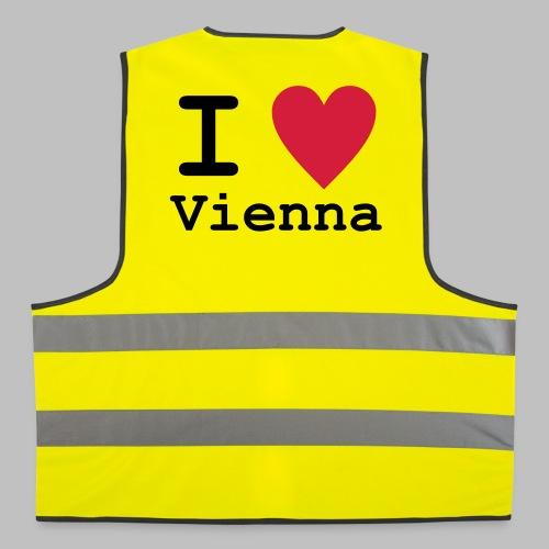 I Love Vienna - Warnweste - Warnweste