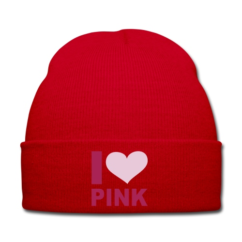 I love pink hat - Winter Hat