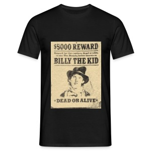 Billy the Kid Steckbrief - Männer T-Shirt
