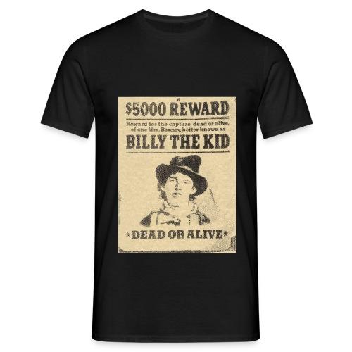 Billy the Kid Steckbrief - Männer T-Shirt