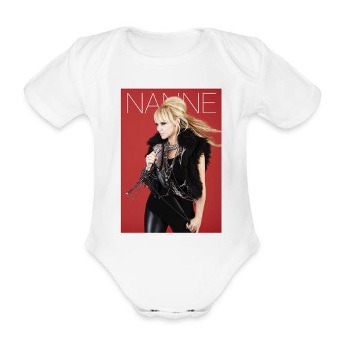 Nanne - Babybody - Ekologisk kortärmad babybody