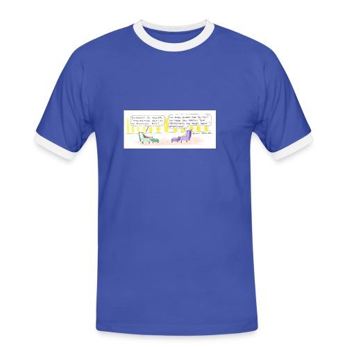 Eduard Jurist in Persion - Männer Kontrast-T-Shirt