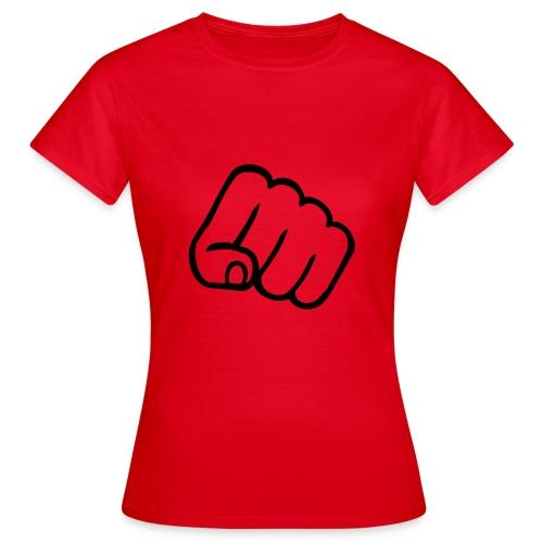 T-shirt femme un poing c'est tout! - T-shirt Femme
