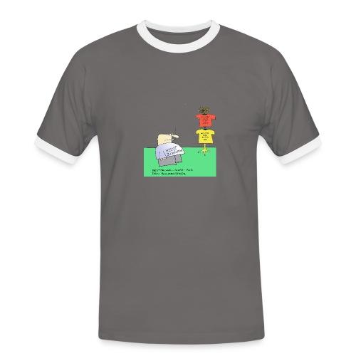 Eduard nicht zuständig - Männer Kontrast-T-Shirt