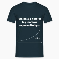 Maths Joke Expontential Log T-Shirts