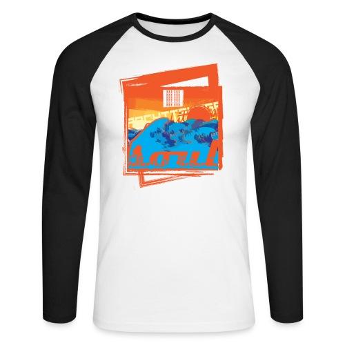 Soul - Men's Long Sleeve Baseball T-Shirt