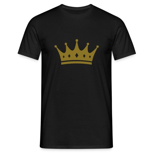 Crown - Male T-Shirt - Men's T-Shirt