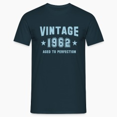 VINTAGE 1962 T-Shirt - Aged To Perfection SN