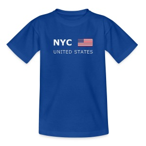 Teenager T-Shirt NYC UNITED STATES - Teenage T-shirt