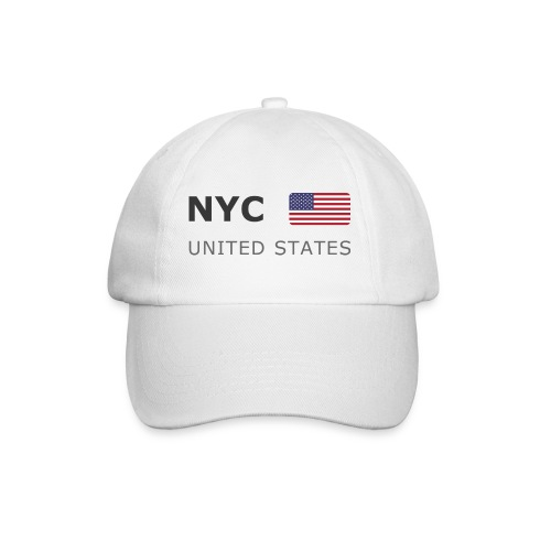 Base-Cap NYC UNITED STATES dark-lettered - Baseball Cap