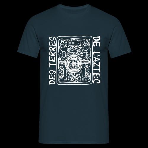 Des Terres De L'Aztec (white) - Männer T-Shirt