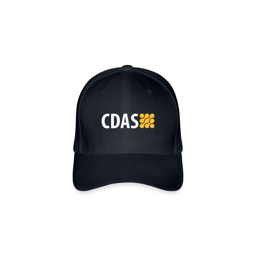 CDAS WINS Team Cap Navy - Flexfit Baseballkappe
