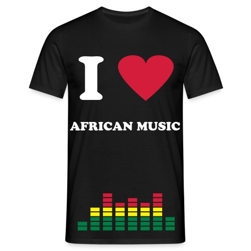 i LOVE AFRICAN MUSIC - T-shirt Homme