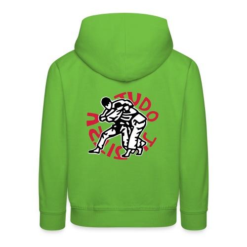 Sweat-shirt enfant - Pull à capuche Premium Enfant