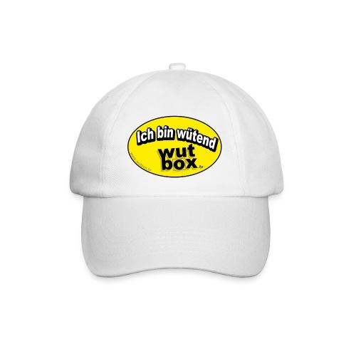 WUTBOX-Cap (nur in weiss erhältlich) - Baseballkappe