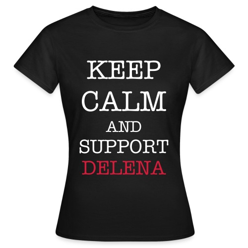 Keep Calm Delena T-shirt - Women's T-Shirt