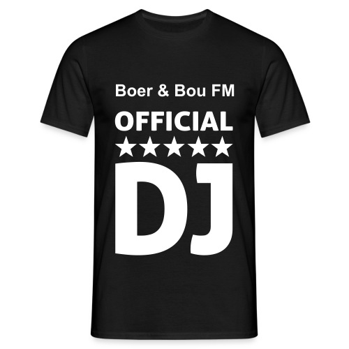 BBFM Official DJ T-Shirt - Mannen T-shirt