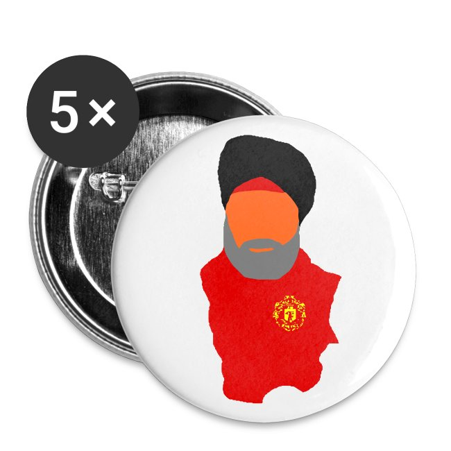 The Fat Sikh - Medium Buttons
