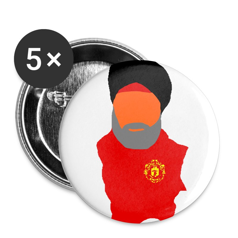 The Fat Sikh - Small Buttons - Buttons small 25 mm
