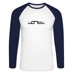shiva space tech. long (new) - Männer Baseballshirt langarm