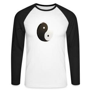 Yin Yang - T-shirt baseball manches longues Homme