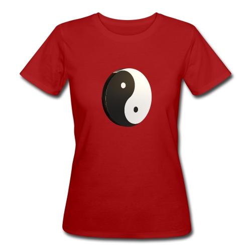 Yin Yang - T-shirt bio Femme