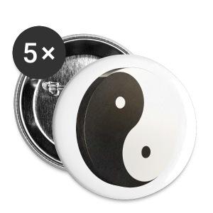 Yin Yang - Badge petit 25 mm