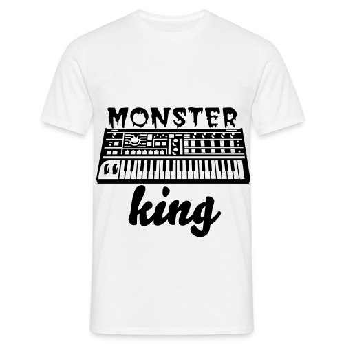 monster king synth - Mannen T-shirt