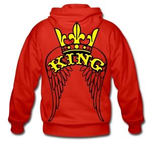 monster king wings classic vest - Mannenjack Premium met capuchon