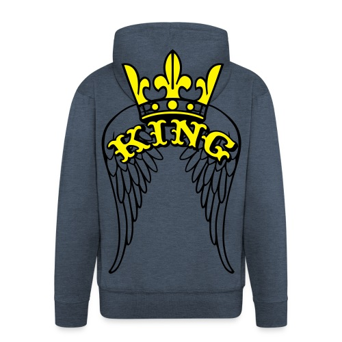 monster king wings classic vest - Mannenjack Premium met capuchon