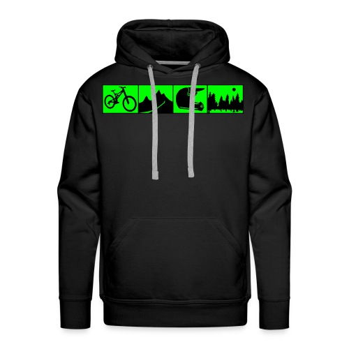 Adrenalin Junkies - Downhill Team Sweater - Männer Premium Hoodie