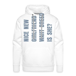 Phrases Man - Men's Premium Hoodie